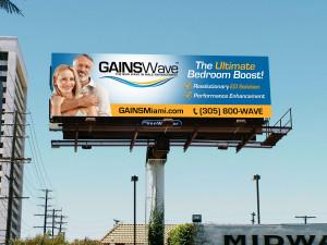 GAINSWave billboard