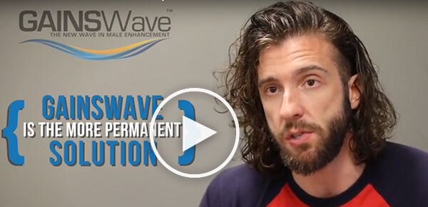 GAINSWave® Testimonial: A More Permanent ED Solution