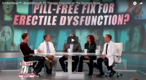 GAINSWave® Therapy Featured on The Doctors Show