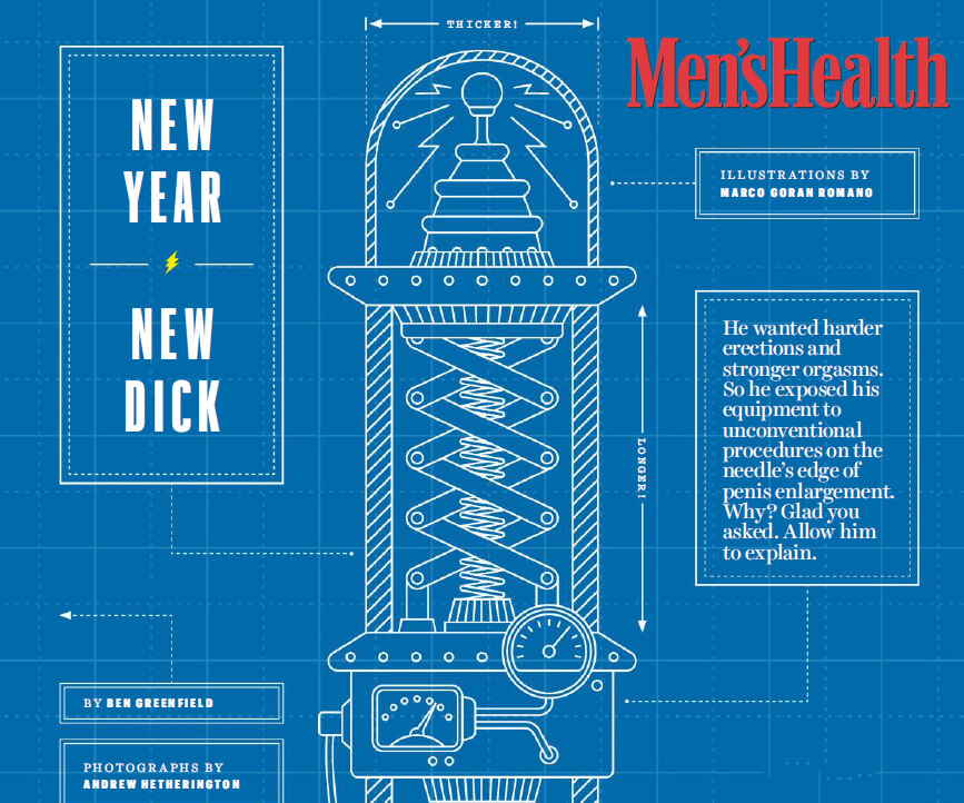 Men's Health Magazine Reveals How to Obtain Better Erections