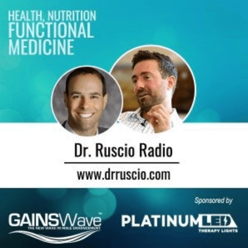 Discussing GAINSWave® on the Dr. Ruscio Radio Podcast