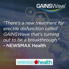 "NewsMax Calls GAINSWave the ""Breakthrough in ED Treatment"""