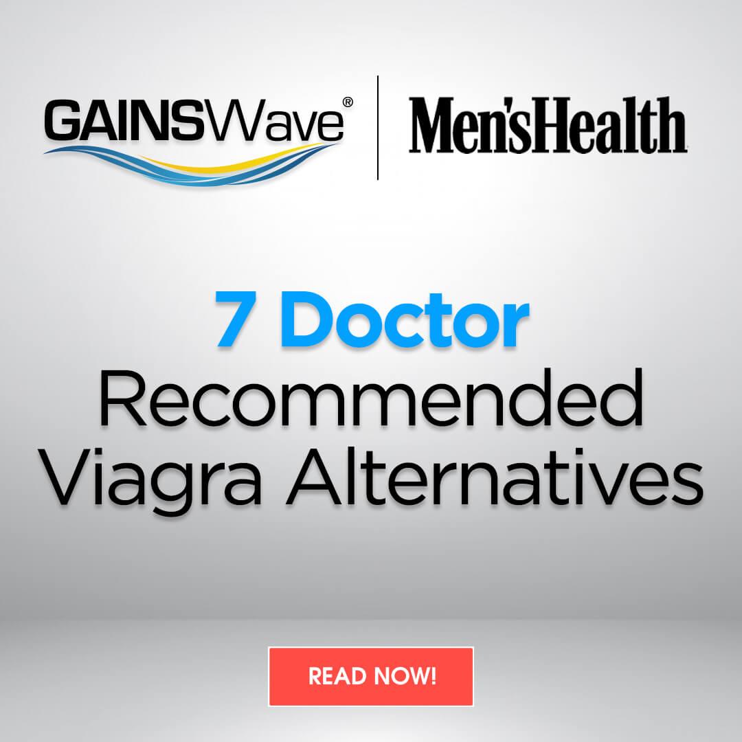 Mens Health Magazine: 7 Doctor-Recommended Viagra Alternatives